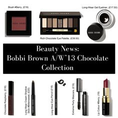 BEAUTY NEWS: Read up on Bobbi Brown's amazing A/W '13 collection here: www.groomedandglossy.com We're in Love! #groomedandglossy