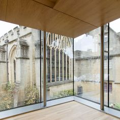 The Garden Building, Lincoln College · Projects · Stanton Williams Architects