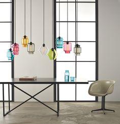 Hervorragend U0027Modern Nicheu0027 Und Ihre Unfassbar Schönen Leuchten Aus Glas Kronleuchter  Bunt, Diy Lampen