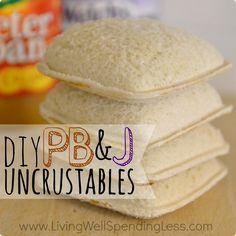 DIY Uncrustables Square