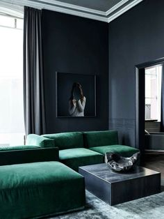 Yes it's true I also find very dark colors appealing in the home