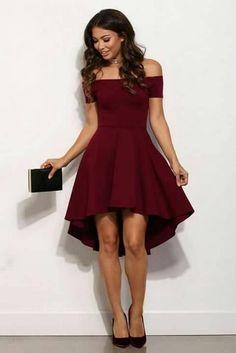 27 Mejores Imágenes De Vestidos De Color Vino Vestidos