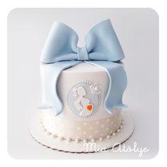 Mia Atölye | Kurabiye&Cupcake&Pasta Atölyesi Baby Shower Pasta, Baby Shower Mum, Baby Shower Cakes, Baby Shower Parties, Baby Boy Cakes, Girl Cakes, Pregnant Cake, Cake Decorating For Beginners, Preparing For Marriage