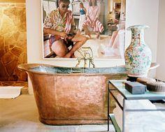 that bath.