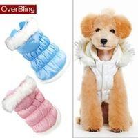 Venda quente roupas para cachorro inverno princesa estilo Pet casacos pequeno grande com capuz bonito roupa do cão de pelúcia Pug