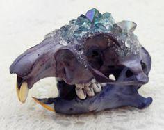 Goat Skull  Ram Skull  Crystallized Skull  by KristenJarvisART