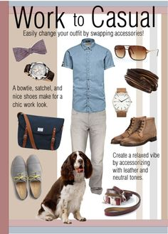 Walking The Dog: Work to Casual | www.rompmag.com