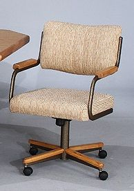C95 855 Chromcraft Furniture Dinette Caster Chair Available At  Www.dinetteonline.com