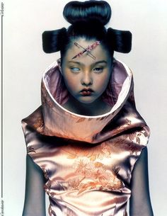 Devon Aoki photographed by Nick Knight