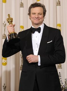 """Colin Firth. 2010: Best Actor // """"The Kings Speech"""""""