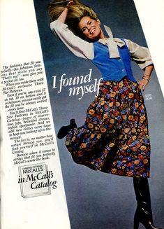 1977 Fashion, Mccalls Patterns, Perfect Fit, Size 12, Retro, Fitness, Skirts, Skirt