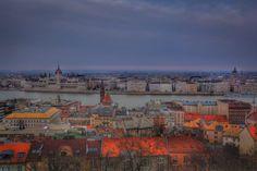 Buda and Pest city skylines