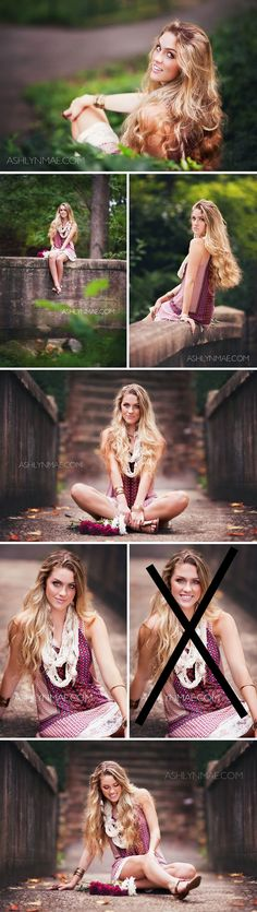 Pose idea 1 - Spearfish Park or Chapel  Pose ideas 2 & 3 - Chapel Pose ideas 4-6 - Spearfish Falls or Rufflock