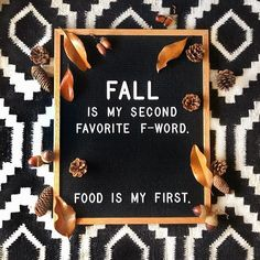 Fall is my second favorite f-word. (Pic by: FUL Candles funny quotes letterboard ideas fall quotes Felt Letter Board, Felt Letters, Felt Boards, Message Positif, Photo Food, Word Board, Quote Board, Happy Fall Y'all, Message Board