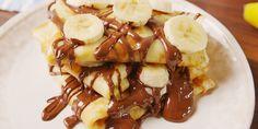 Best Chocolate-Banana Crepes - How to Make Chocolate-Banana Crepes