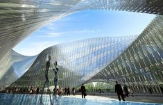 Swallow's Nest - Taichung City Cultural Center / Vincent Callebaut Architectures