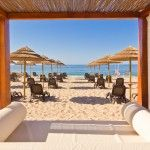 Hire a sunbed for the day at the Blue Wave Beach Club. Cabanas Velhas beach, between Burgau and Salema, Then have lunch in the wonderful restaurant, and stay until the sun goes down - perfect!