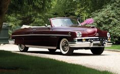 1951 Lincoln Cosmopolitan Convertible - This is a Collector's Lincoln. The Lincoln Cosmopolitans were the top-of -the-line cars for Lincoln.