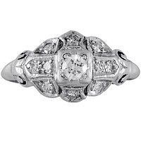 Brilliant Earth...lovely antique inspired rings :)