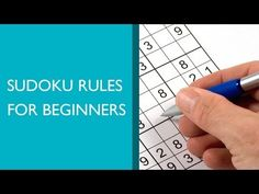 Sudoku Rules for Beginners - YouTube
