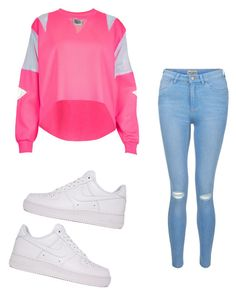 """""""Untitled #932"""" by tanasia2266 ❤ liked on Polyvore featuring The Ragged Priest, NIKE and New Look"""