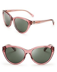 Tory Burch Logo Cat Eye Sunglasses - All Sunglasses - Sunglasses - Jewelry & Accessories - Bloomingdale's
