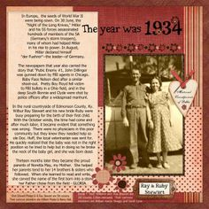 digital heritage layout by Debbie Phelps... the simplicity of the design lets the journaling do it's job... tell the story! .... and this story brought tears! But in the end a simple, yet beautiful tribute to baby Gloria