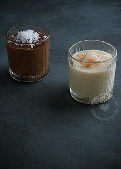 Receta Maicena con Chocolate y Vainilla: Basado en un popular desayuno para niños, este es un postre fácil de hacer que puedes servir separados, o mezclar.