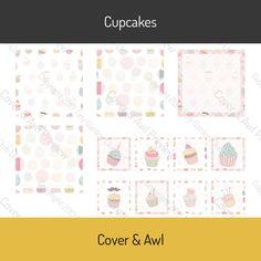 """Simple sticker kits include 1.5"""" square sticker boxes ¾"""" square graphic stickers"""