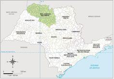 São Paulo - Conheça seu Estado (História e Geografia): 12 - São José do Rio Preto (Mesorregião)