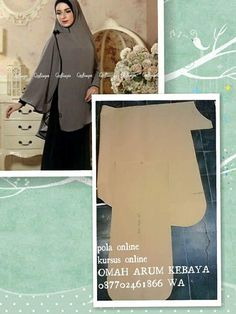 Best 12 Take top fold of sewn scarf n pin to shoulder – Page 533887730821339963 Muslim Fashion, Hijab Fashion, Diy Fashion, Turban Hijab, Hijab Dress, Abaya Pattern, Instant Hijab, Modele Hijab, Sewing Patterns