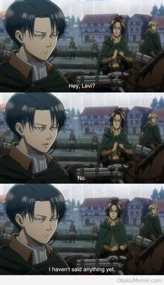 These two are perfect..........for each other ;) | Levi & Hanji Zoe | LeviHan | Attack on titan / aot / Shingeki no Kyojin / snk ova | Anime manga scouting legion | Funny humor lol