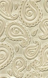 accent tiles - paisley pattern  redrocktileworks.com Pinned by #conceptcandieinteriors #tile --Concept Candie Interiors offers virtual interior design services
