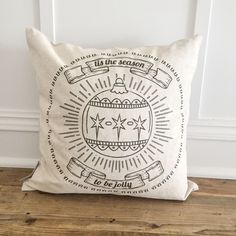 Announcing our Christmas '16 Collection from So Vintage Chic! These handmade linen pillows are gorgeous additions to your holiday decor. Shop now at sovintagechic.com!