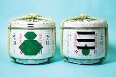 Jaoanese Sake Miyoshi 樽Design / Design by 石黒 篤史(OUWN) #日本酒 #三好