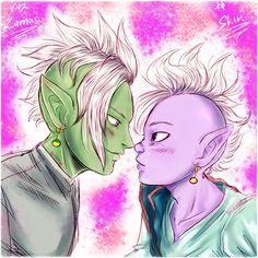 Zamasu & Kaioshin / Zamashin by AkariMarco.deviantart.com on @DeviantArt