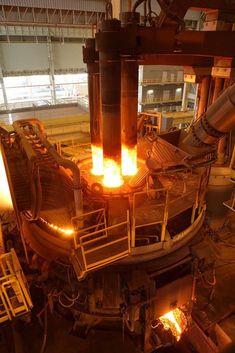Innovation in der Stahlherstellung - Mehr - Aida Biermann Engineering Tools, Chemical Engineering, Industrial Photographs, Carnegie Steel, Iron And Steel Industry, Structural Model, Fabrication Tools, Industrial Machinery, Steel Mill