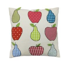 Fruits Applique Cushion - Home and Garden Design Ideas