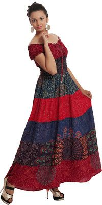 Buy Indi Bargain Women's Maxi Dress Online at Best Offer Prices @ Rs. 1,199/- In India. Only Genuine Products. 30 Day Replacement Guarantee. Free Shipping. Cash On Delivery! #Maxi #Dresses #India