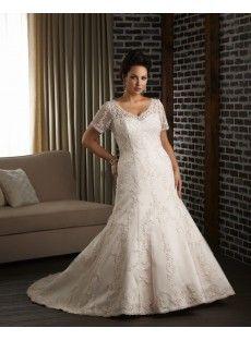 fed9fdc0f86 plus size wedding dress Plus Size Wedding Dresses With Sleeves