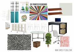 Home School Room Design Board www.simplestylings.com