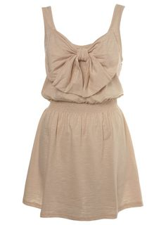Cute Bow Front Dress