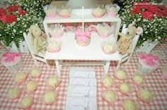 cute details  for this Maileg rabbit themed party