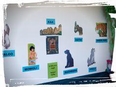 El llibre de la jungla: personatges