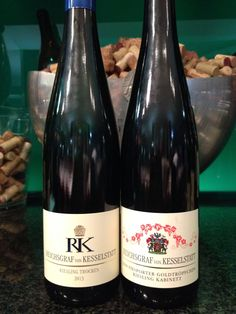 Dry vs sweet, 2 different German wines from Mosel