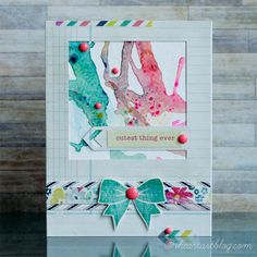 Straw Blowing Technique by tiffguam - Cards and Paper Crafts at Splitcoaststampers