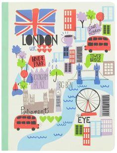 print & pattern - paperchase notebook