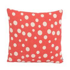 Heal's 1810 Dotty Red Cushion