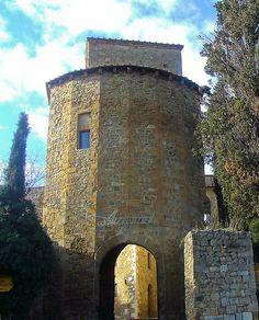 San Quirico d'Orcia - Porta Cappuccini, province of Siena Tuscany