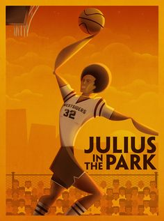 """Julius """"the doctor"""" Irving"""